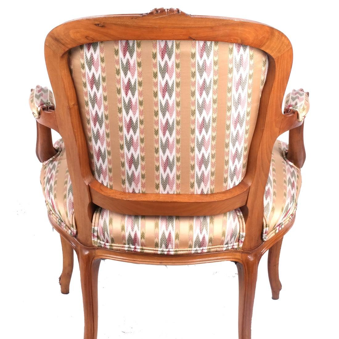 Set of 10 Provincial Dining Chairs - 10
