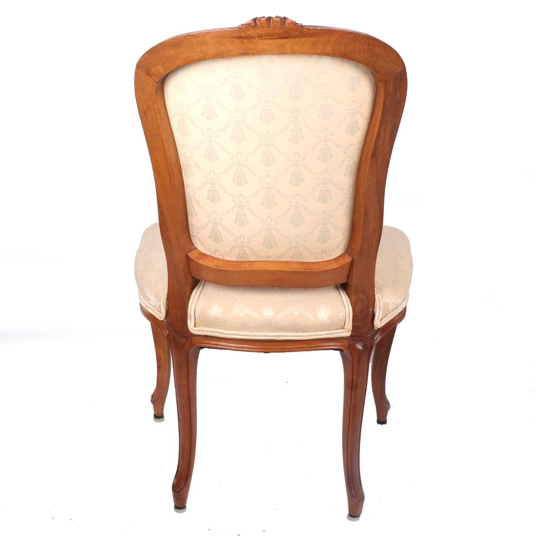 Set of 10 Provincial Dining Chairs - 5