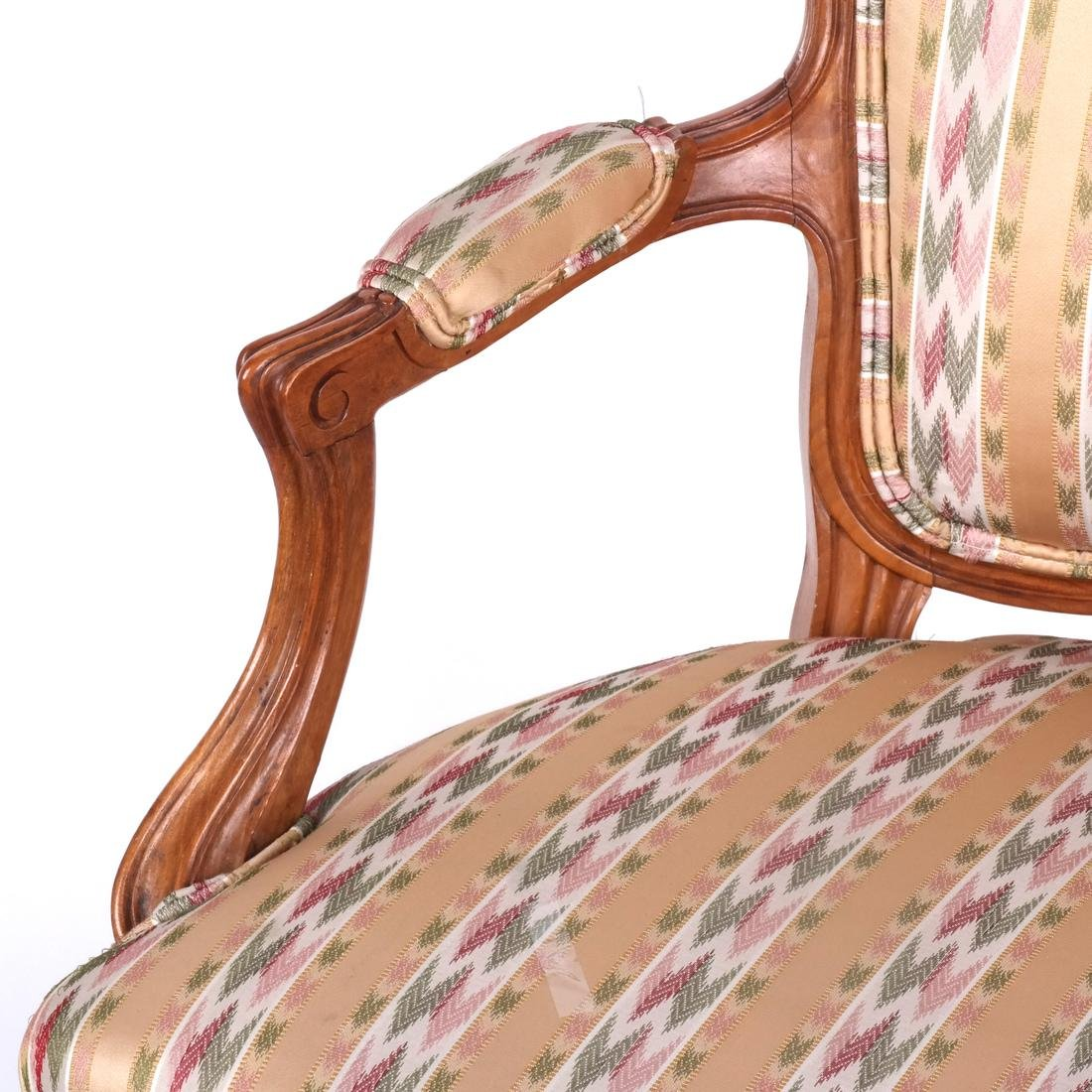 Set of 10 Provincial Dining Chairs - 6