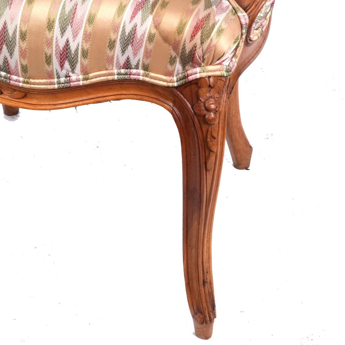 Set of 10 Provincial Dining Chairs - 7