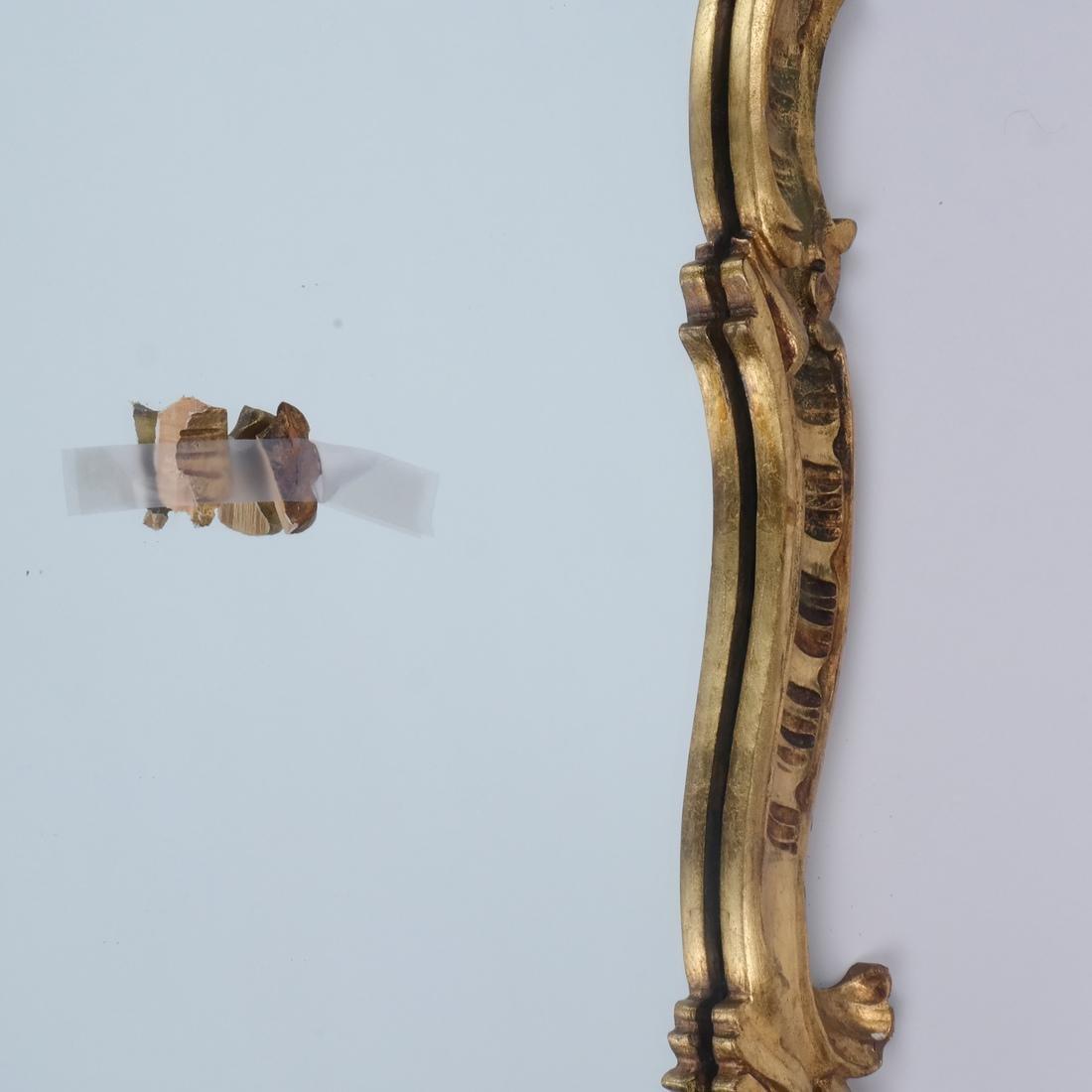 Gilt Carved Mirror - 4