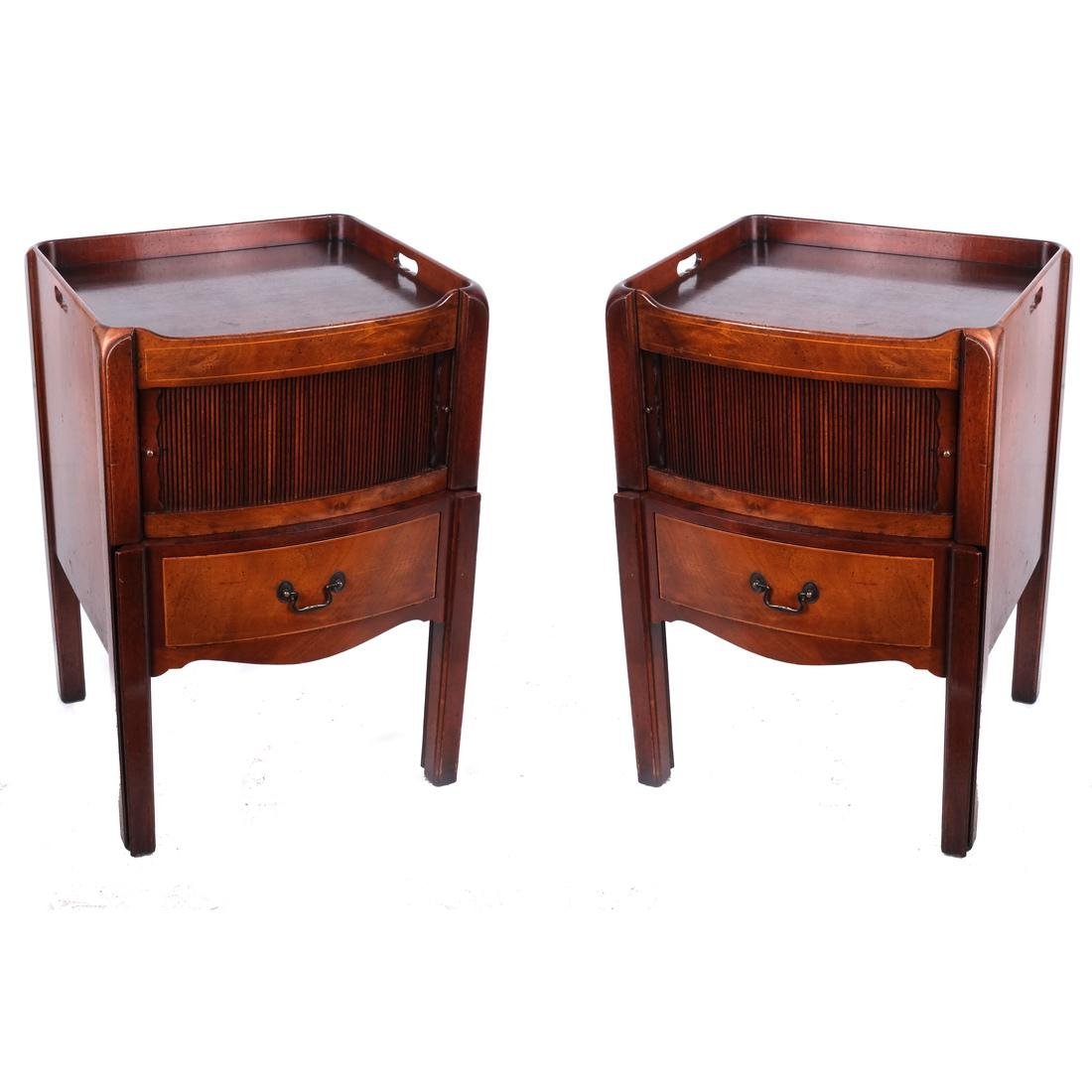 Pair Tambor Step Tables by Beacon Hill