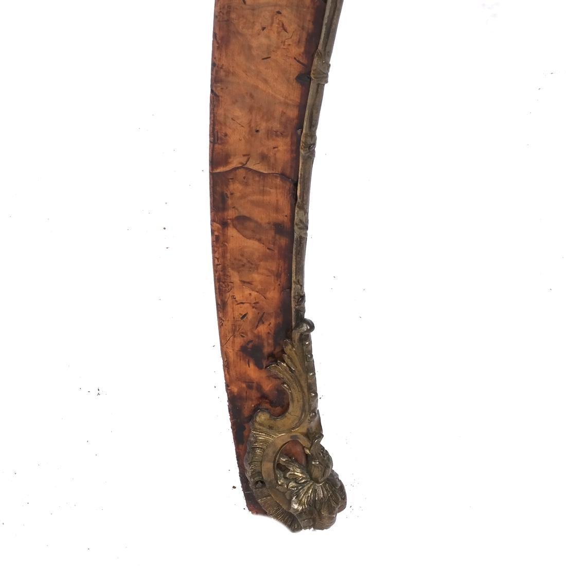 Walnut Tooled Leather Bureau Plat - 6
