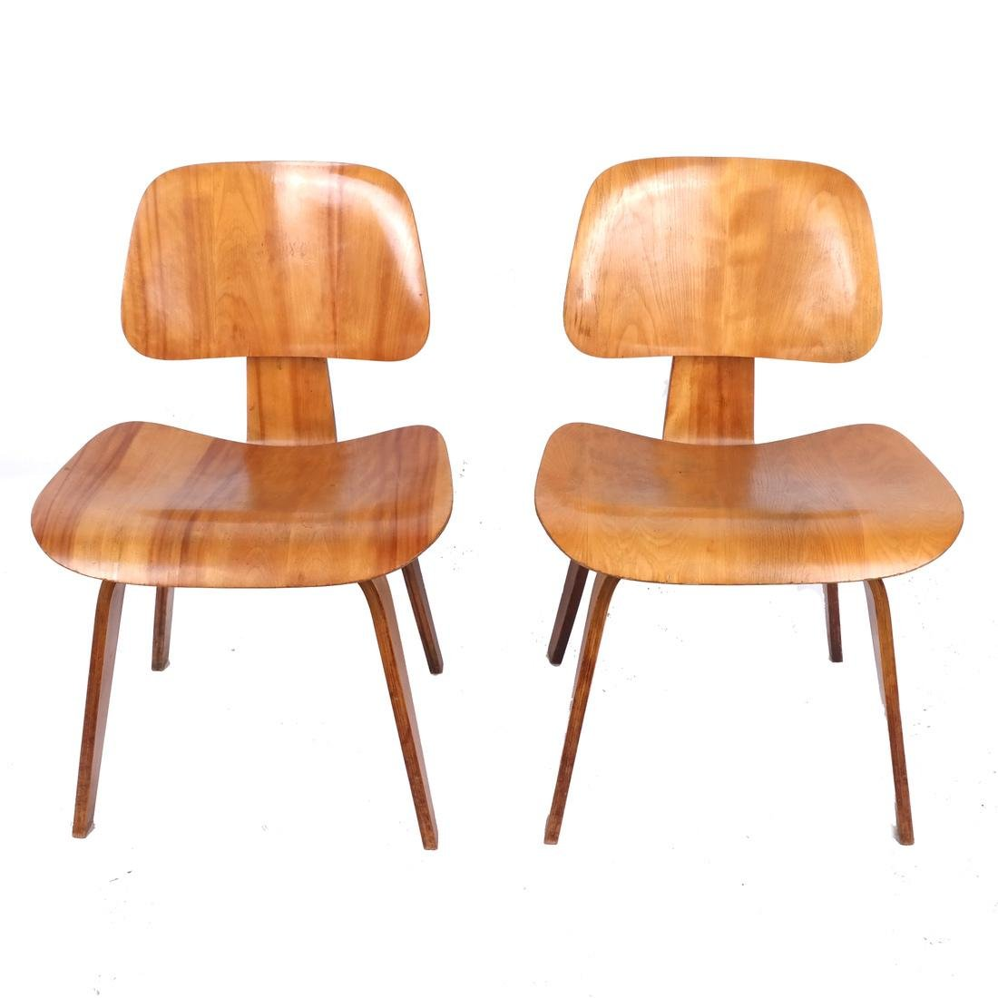 Charles Eames For Herman Miller LCW Chairs