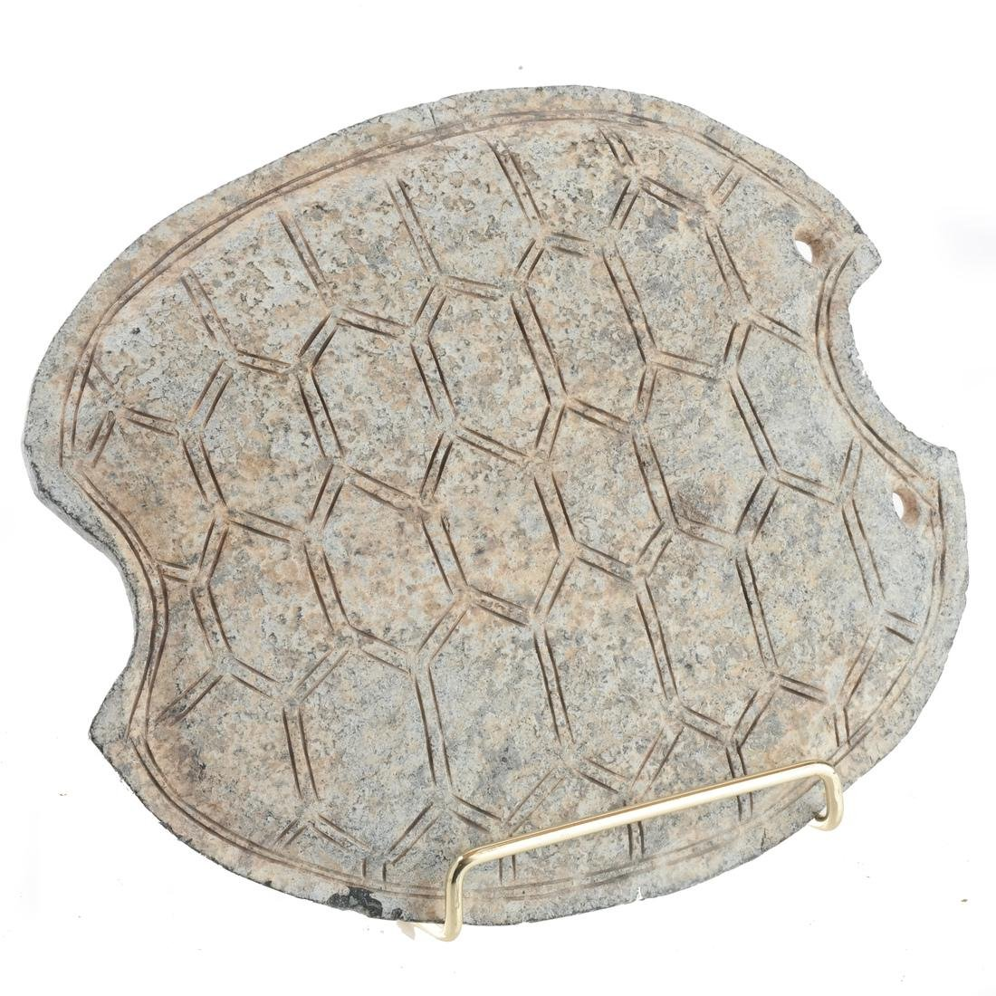 Chinese Stoneware Turtle Back Decoration
