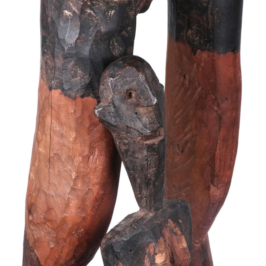 Tanzania: Sukuma Maternity Sculpture - 10