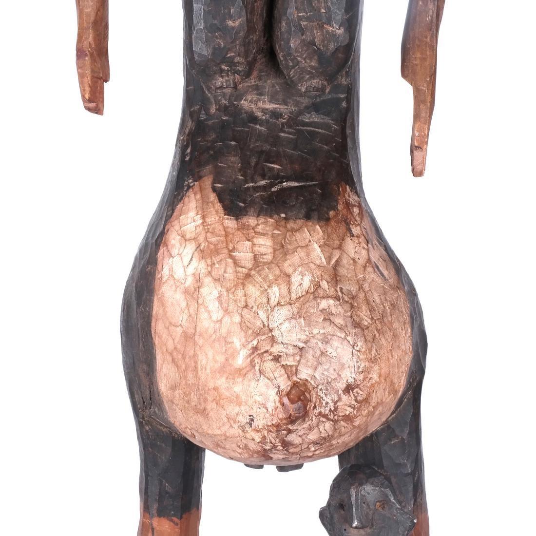 Tanzania: Sukuma Maternity Sculpture - 3