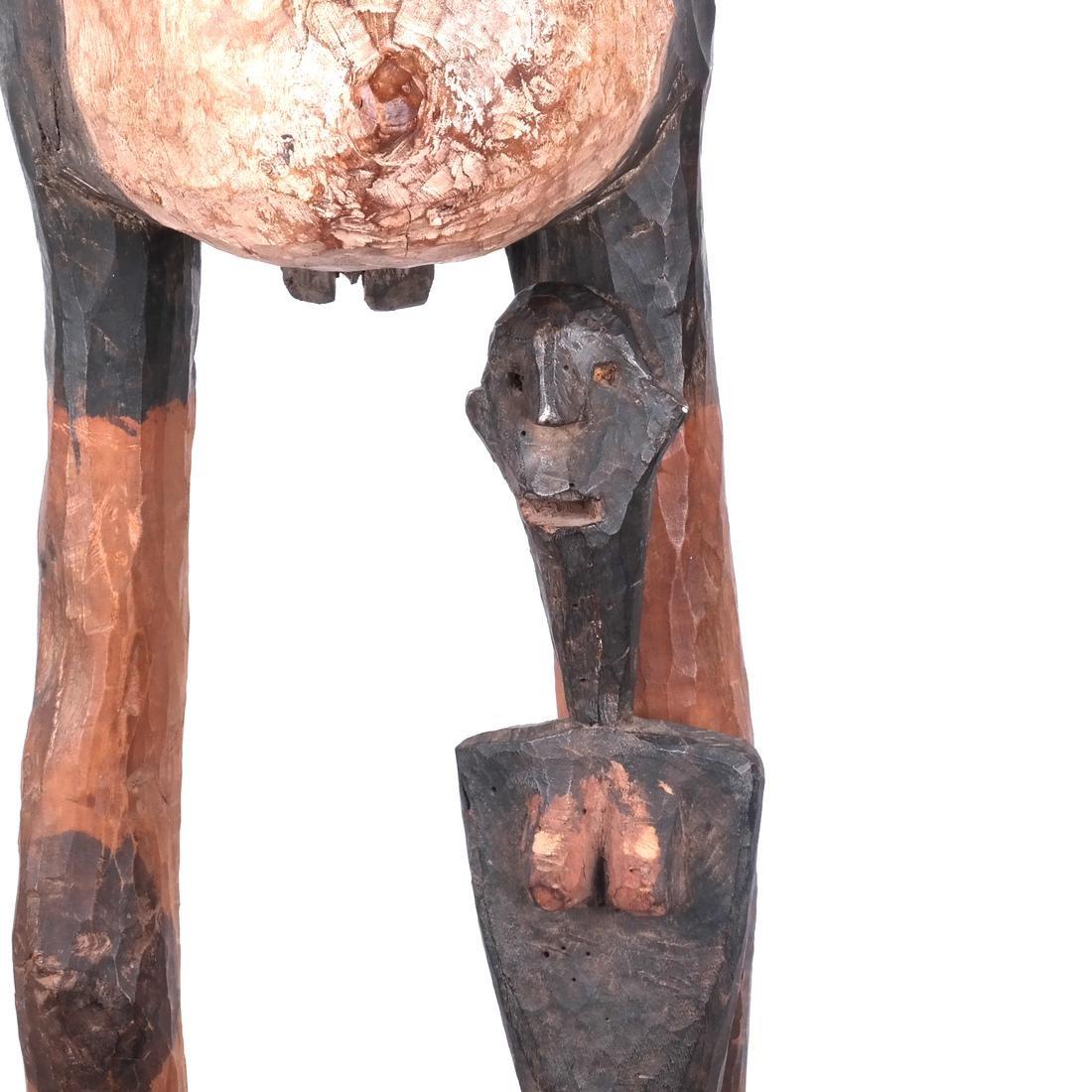 Tanzania: Sukuma Maternity Sculpture - 4