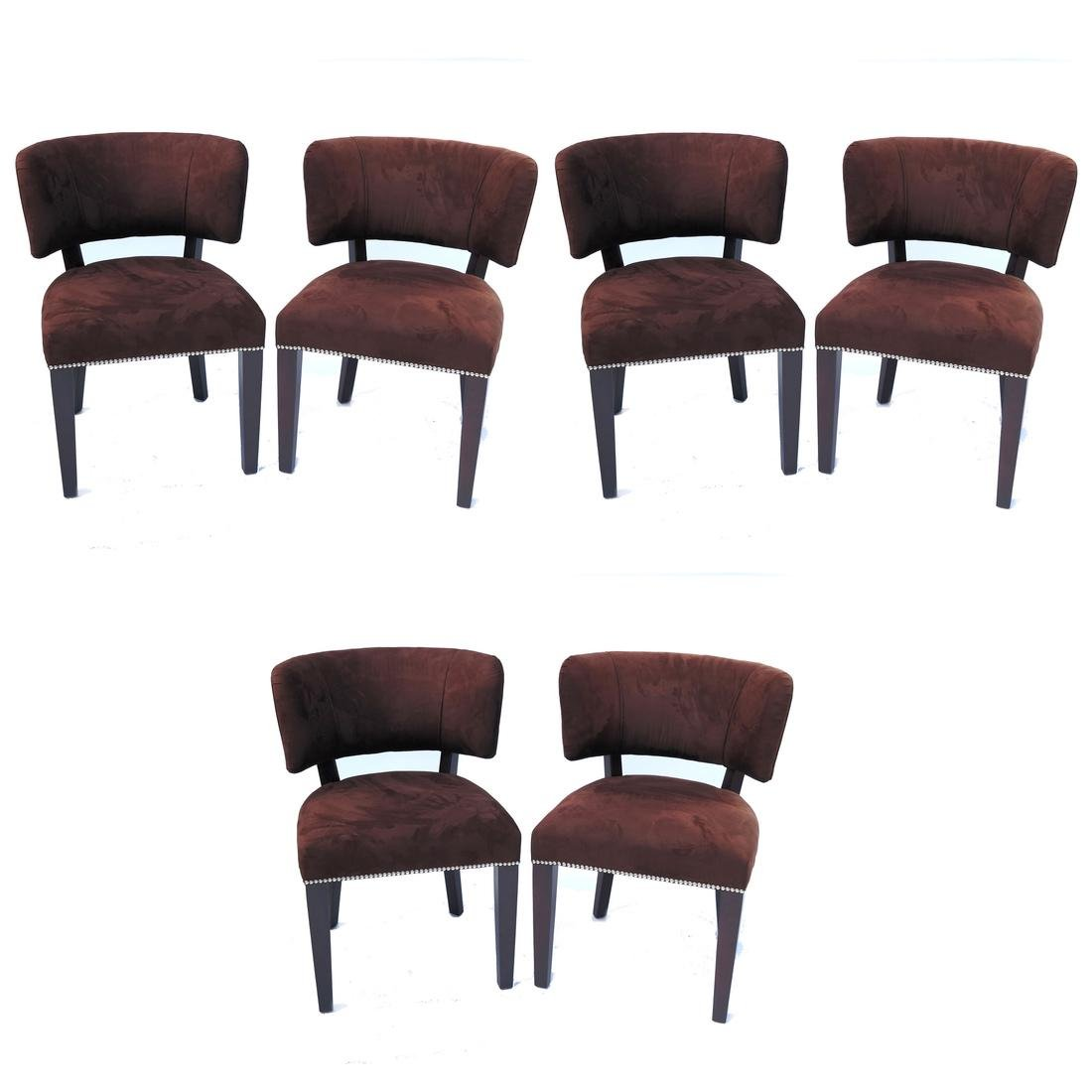 Set of 6 Ralph Lauren Dining Chairs by Cliff House