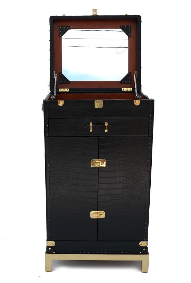 Ralph Lauren Steamer Trunk-Form Bar - 2