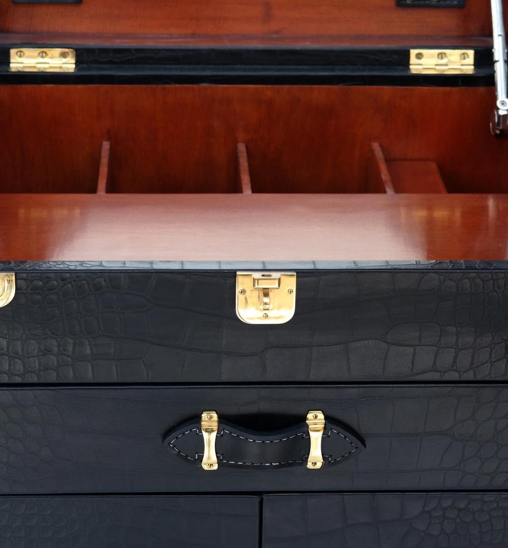 Ralph Lauren Steamer Trunk-Form Bar - 4