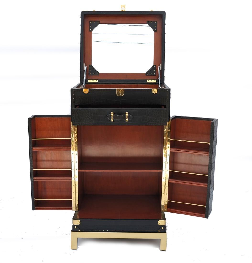 Ralph Lauren Steamer Trunk-Form Bar - 5