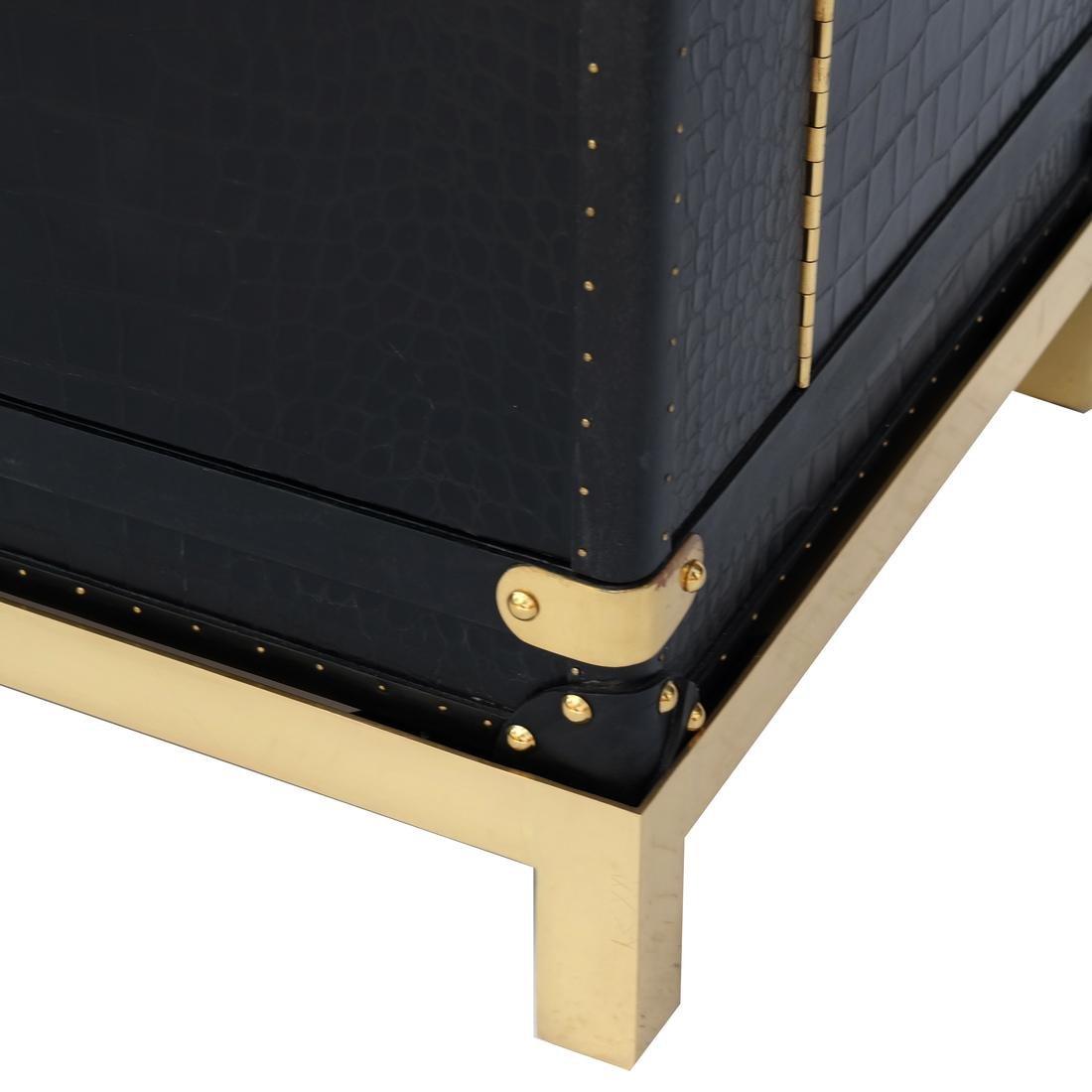 Ralph Lauren Steamer Trunk-Form Bar - 7