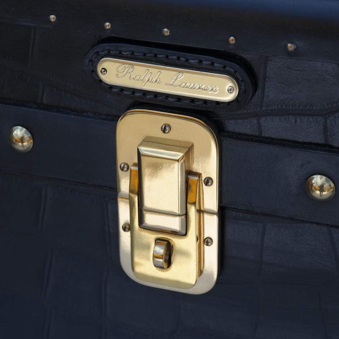 Ralph Lauren Steamer Trunk-Form Bar - 8