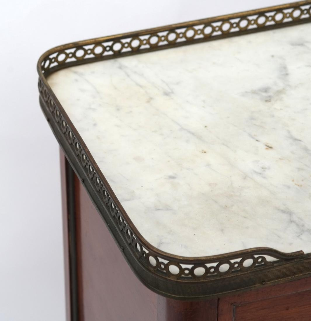 19th C. French Marble-Top Stand - 2