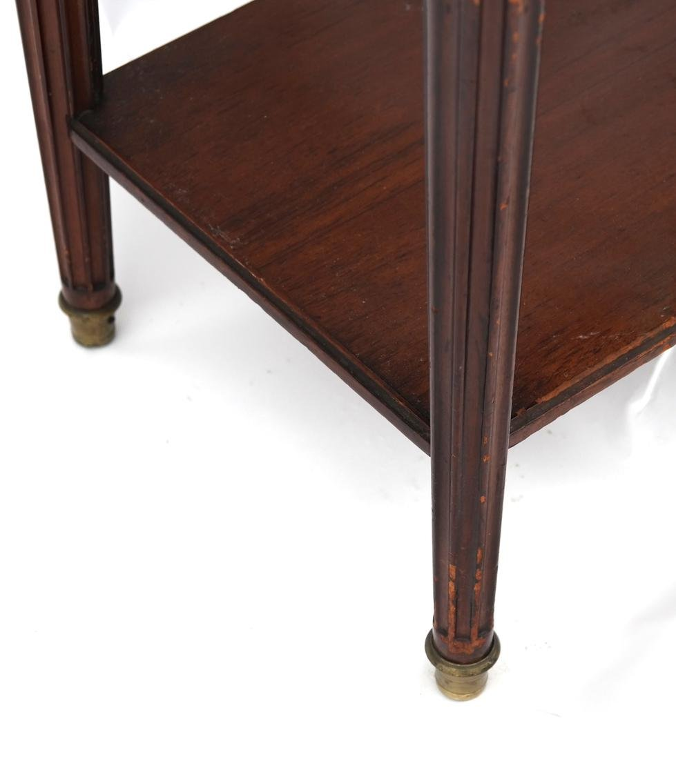 19th C. French Marble-Top Stand - 4