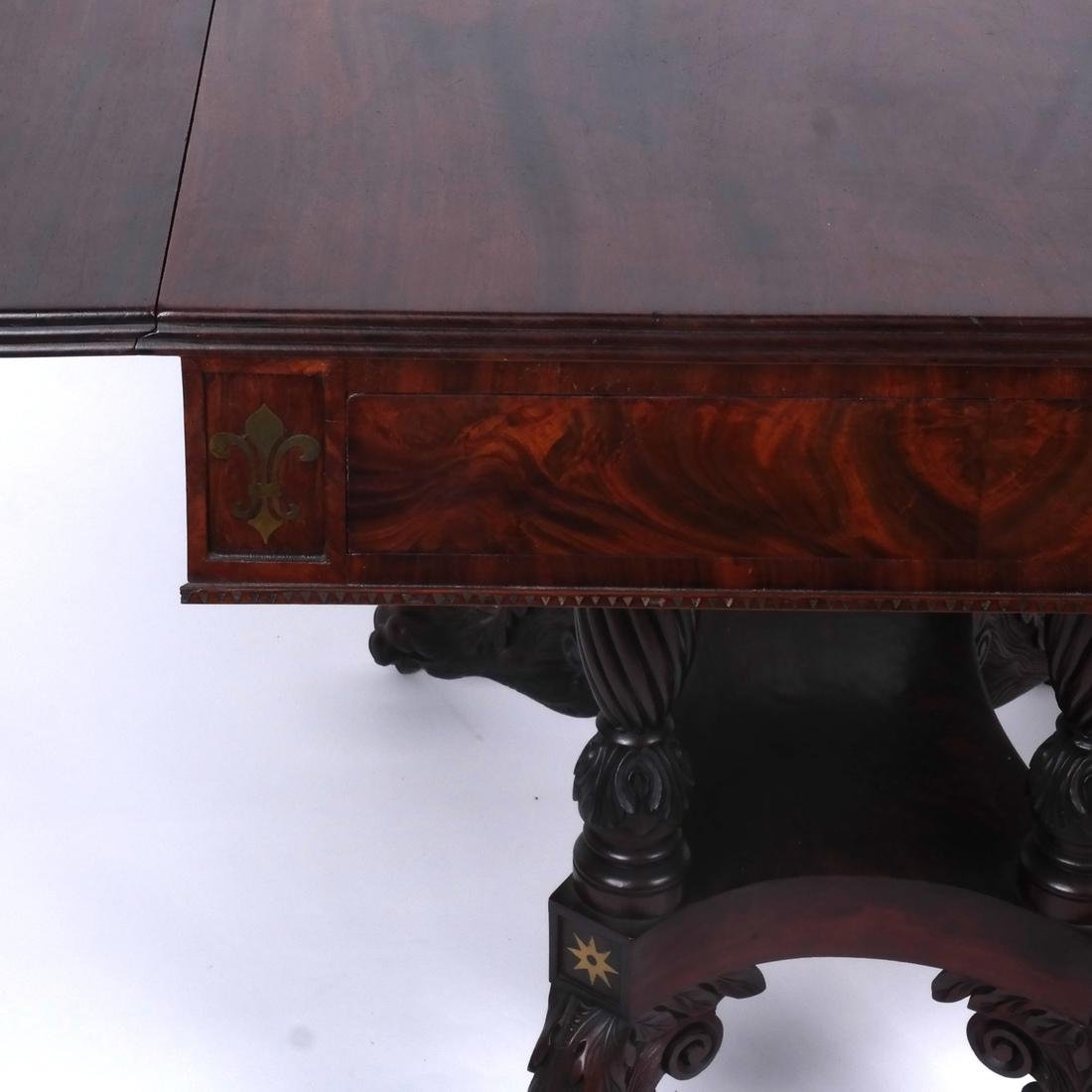 Antique Regency Sofa Table - 4