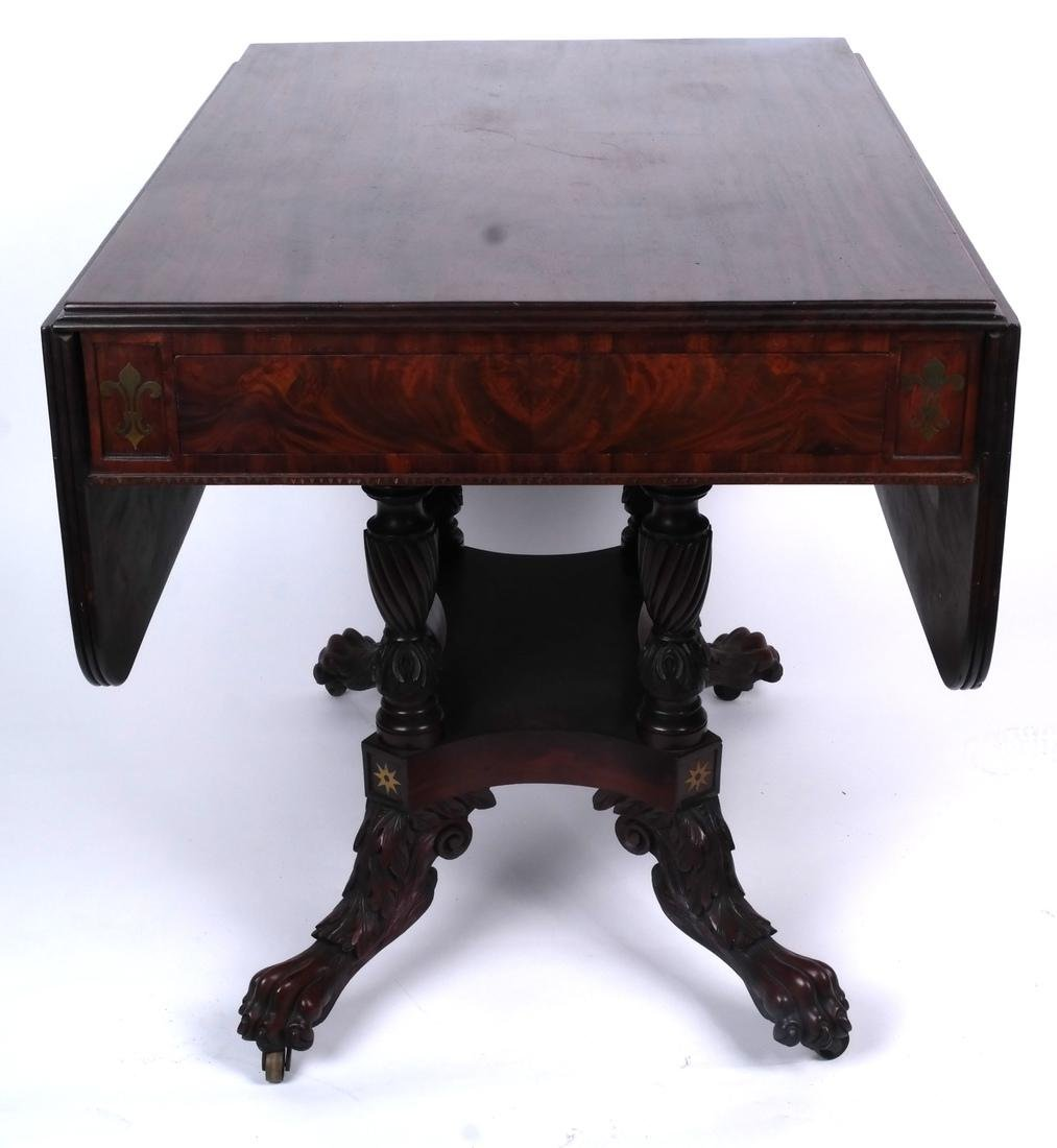 Antique Regency Sofa Table - 7