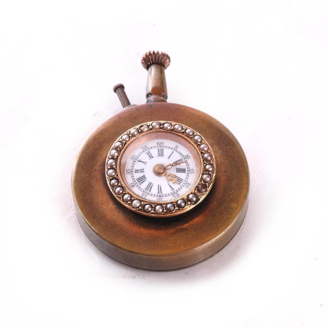 14k Button Watch - 2