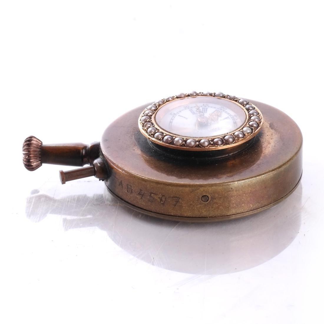 14k Button Watch - 3