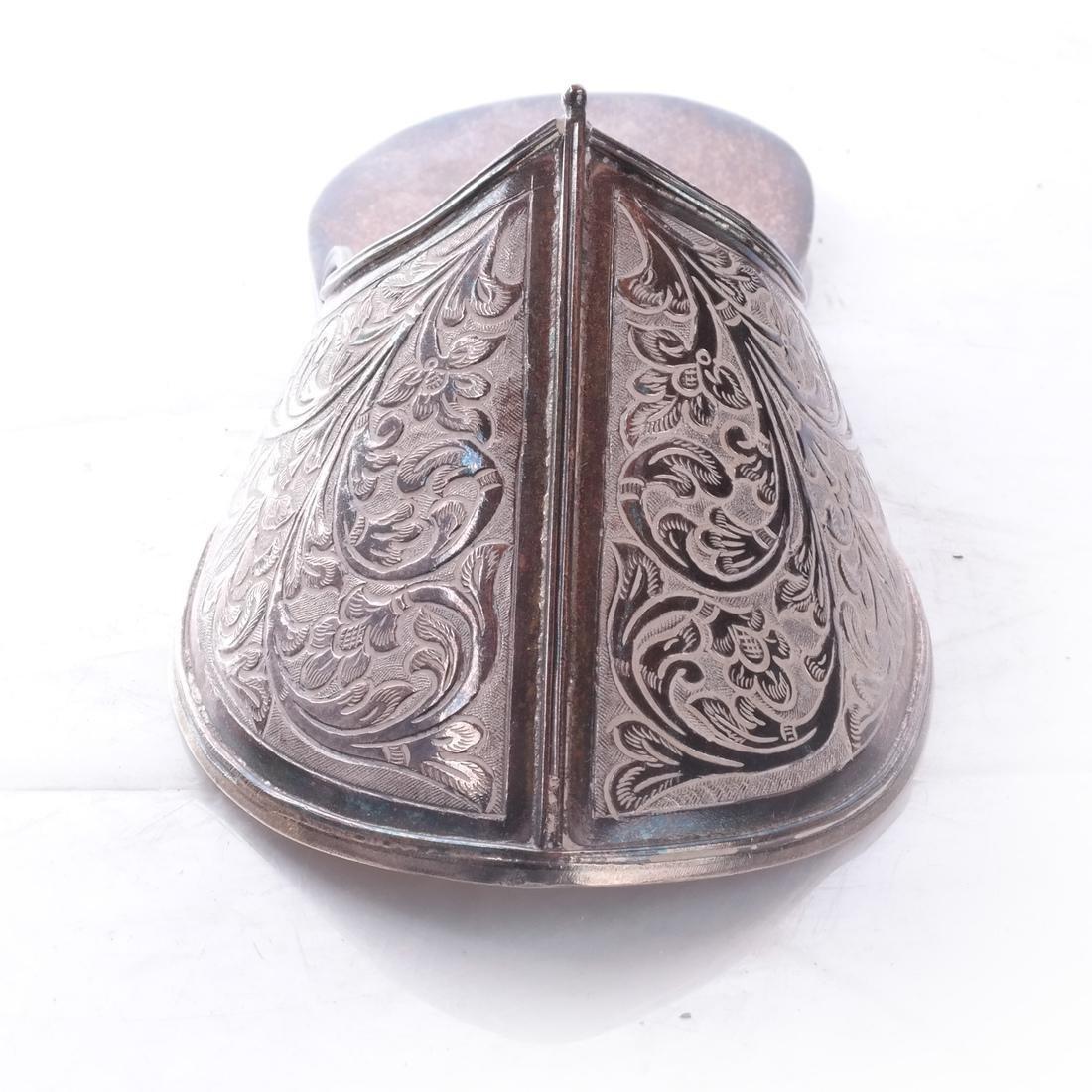 Ottoman: .925 Sterling Silver Persian/Ottoman Shoe - 2