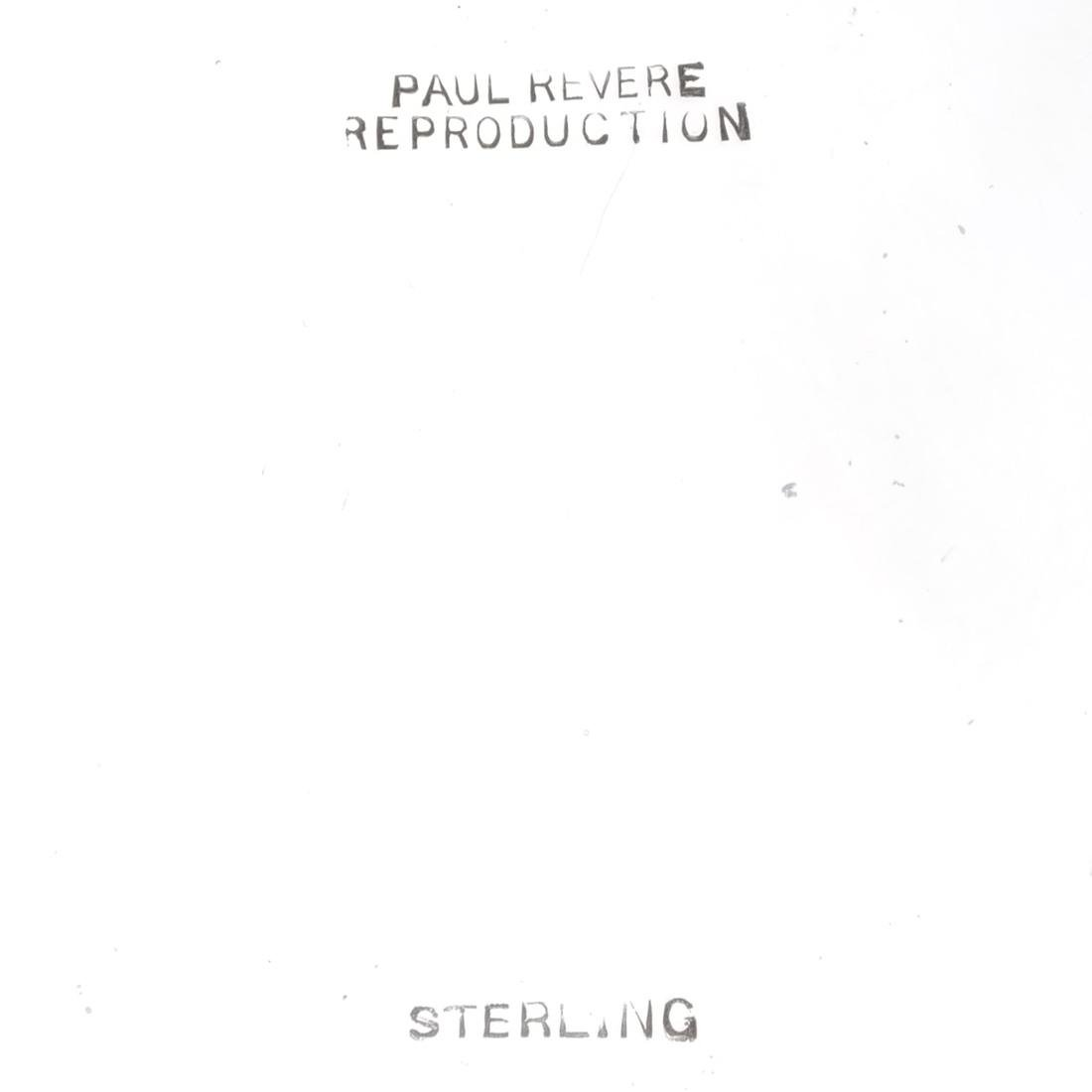 American .925 Sterling Silver Revere Bowl - 3