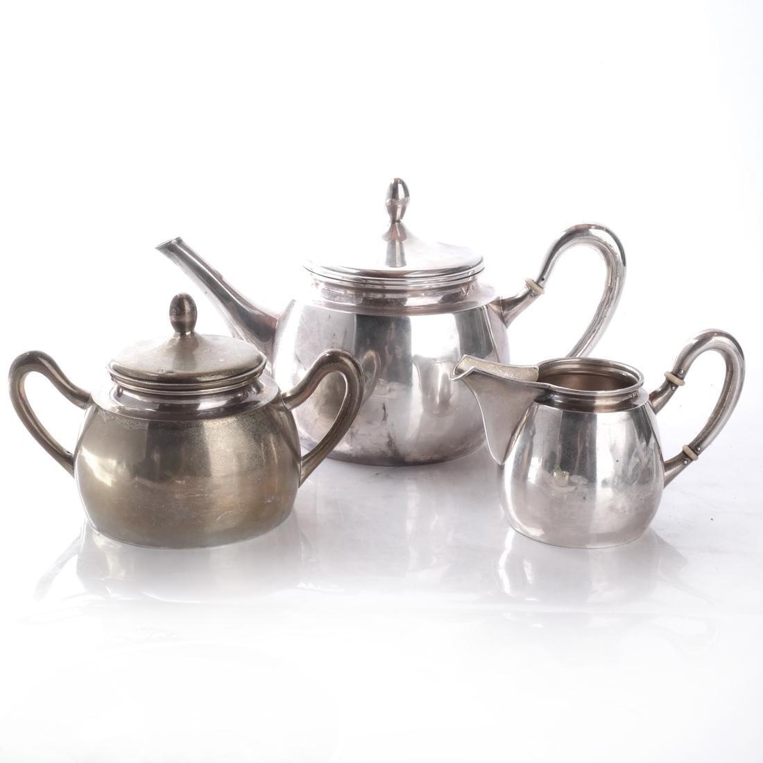 Continental Silver 3-Piece Tea Service