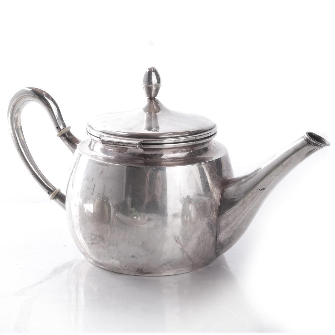Continental Silver 3-Piece Tea Service - 2