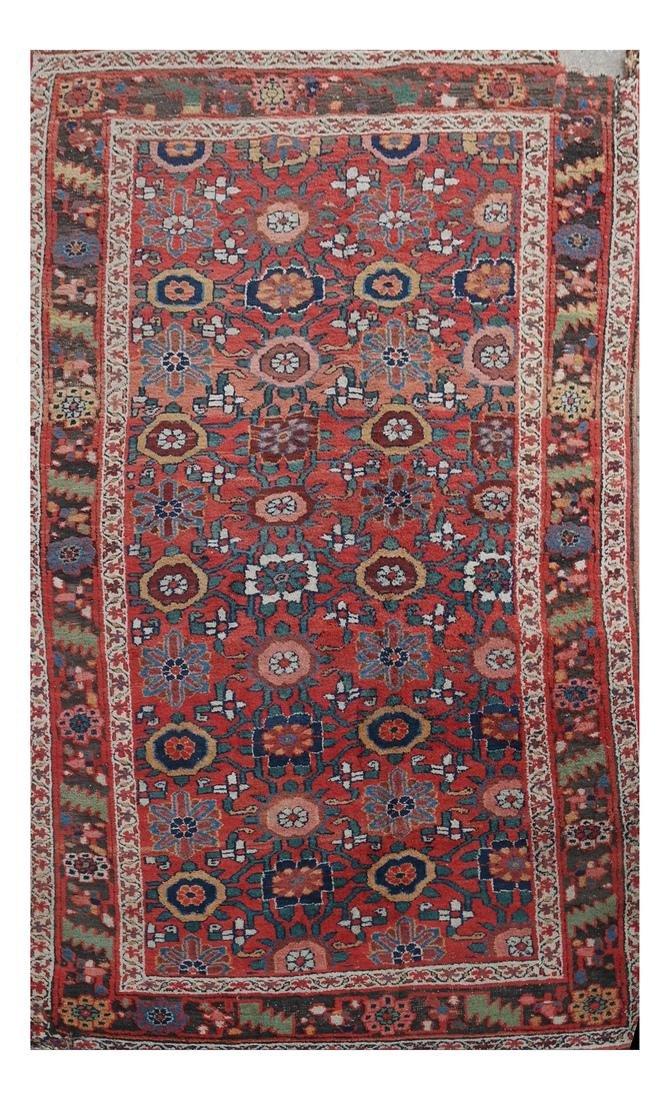 Central Asian Heriz Rug