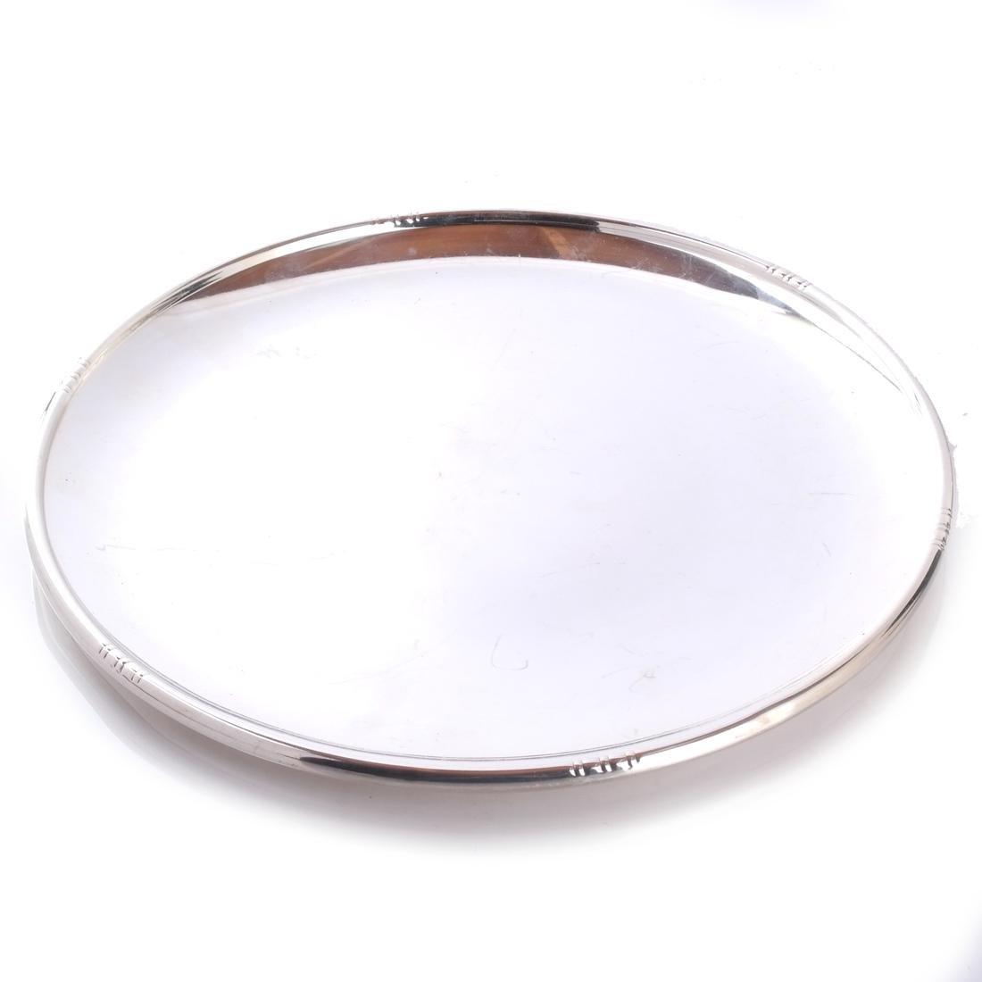 Fisher Silver Jensen-Style Round Tray