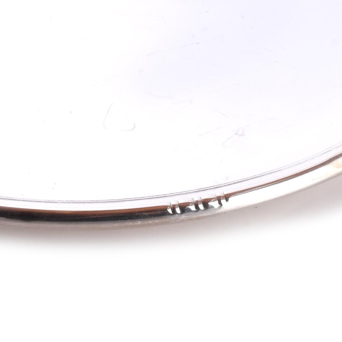 Fisher Silver Jensen-Style Round Tray - 2