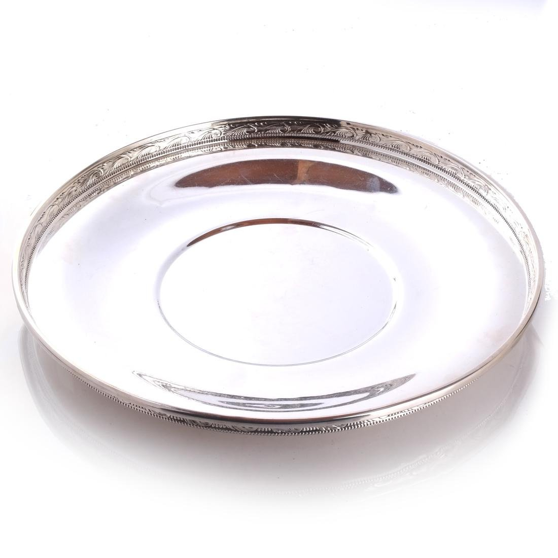 Reed & Barton Galleried Serving Tray
