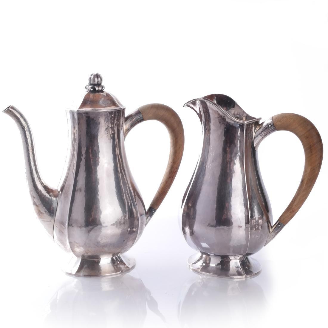 Baltensperger 5-Piece Sterling Tea Set - 2