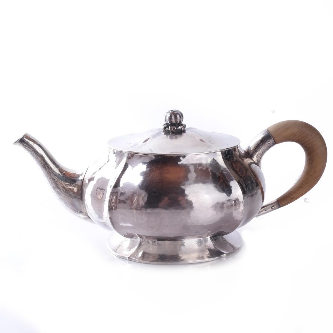 Baltensperger 5-Piece Sterling Tea Set - 6