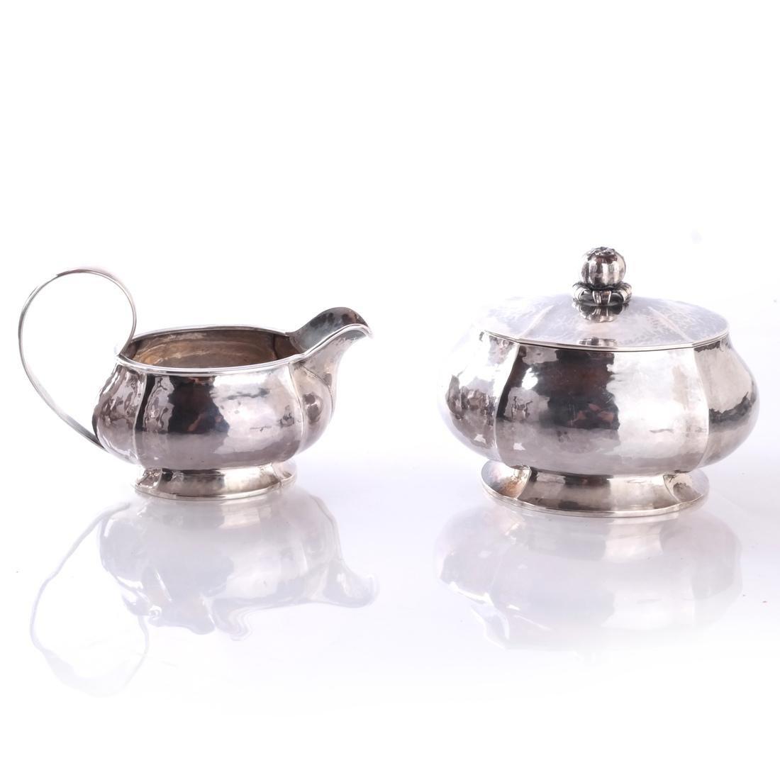 Baltensperger 5-Piece Sterling Tea Set - 7