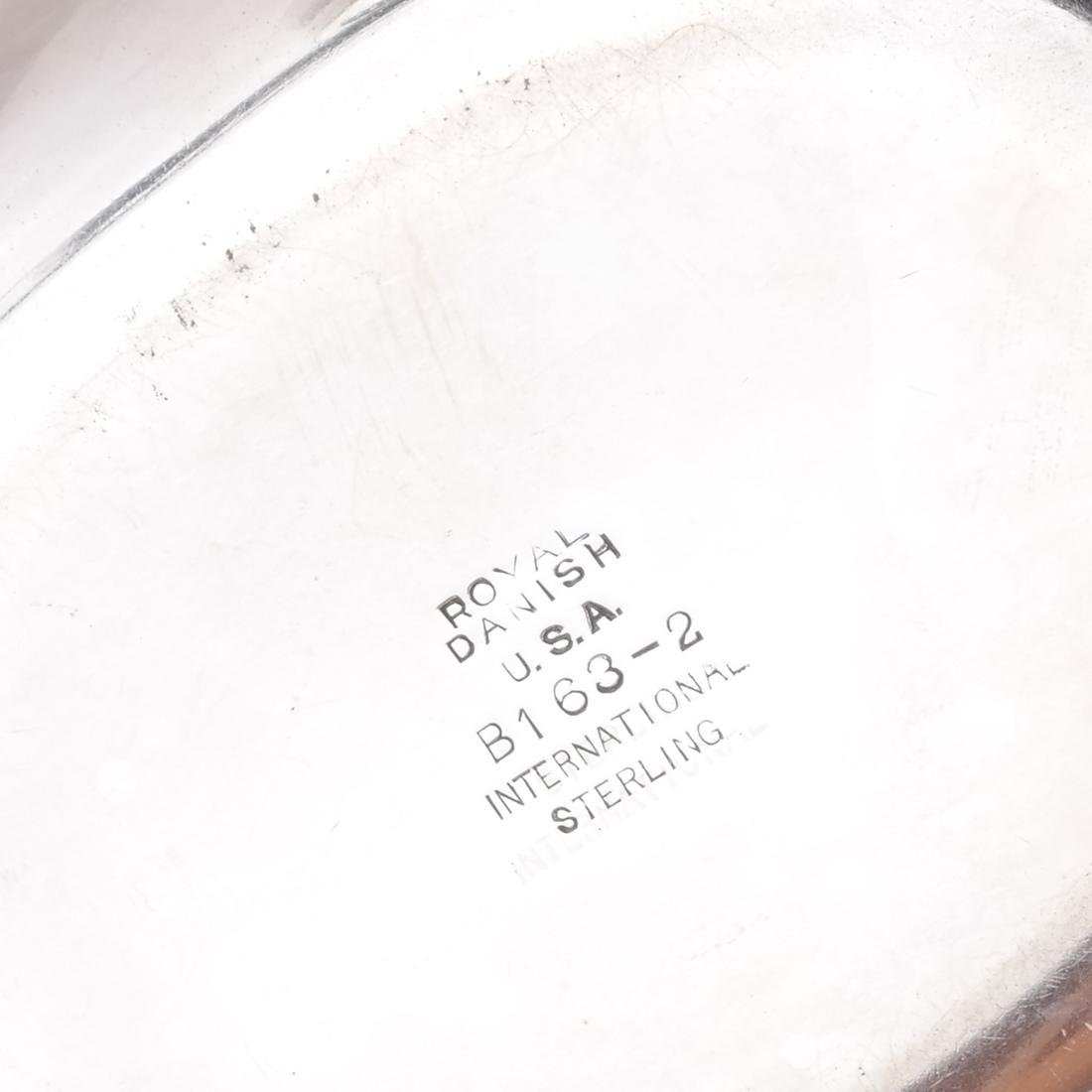Royal Danish Silver Serving Dish, Others - 3
