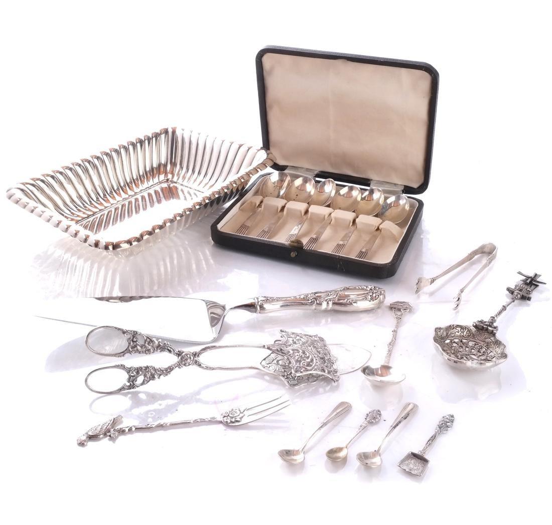 Reed & Barton Silver Dish, Plated Items