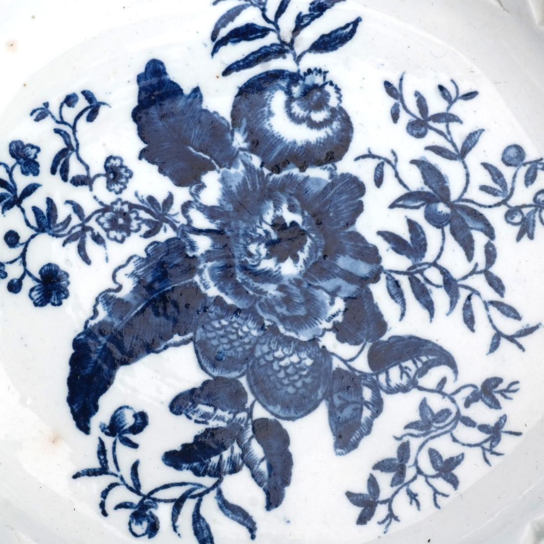 Two 18th C. English Porcelain Baskets - 3