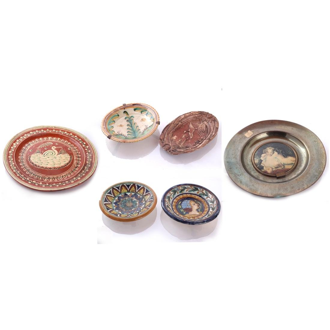 Mexican, Portuguese, etc. Faience Dishes