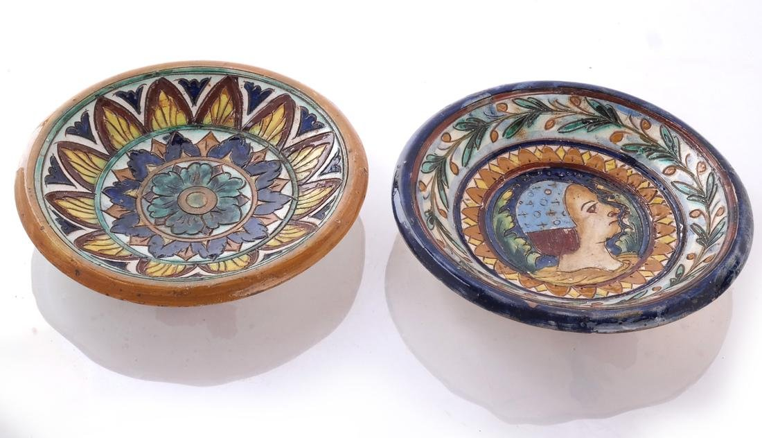 Mexican, Portuguese, etc. Faience Dishes - 2