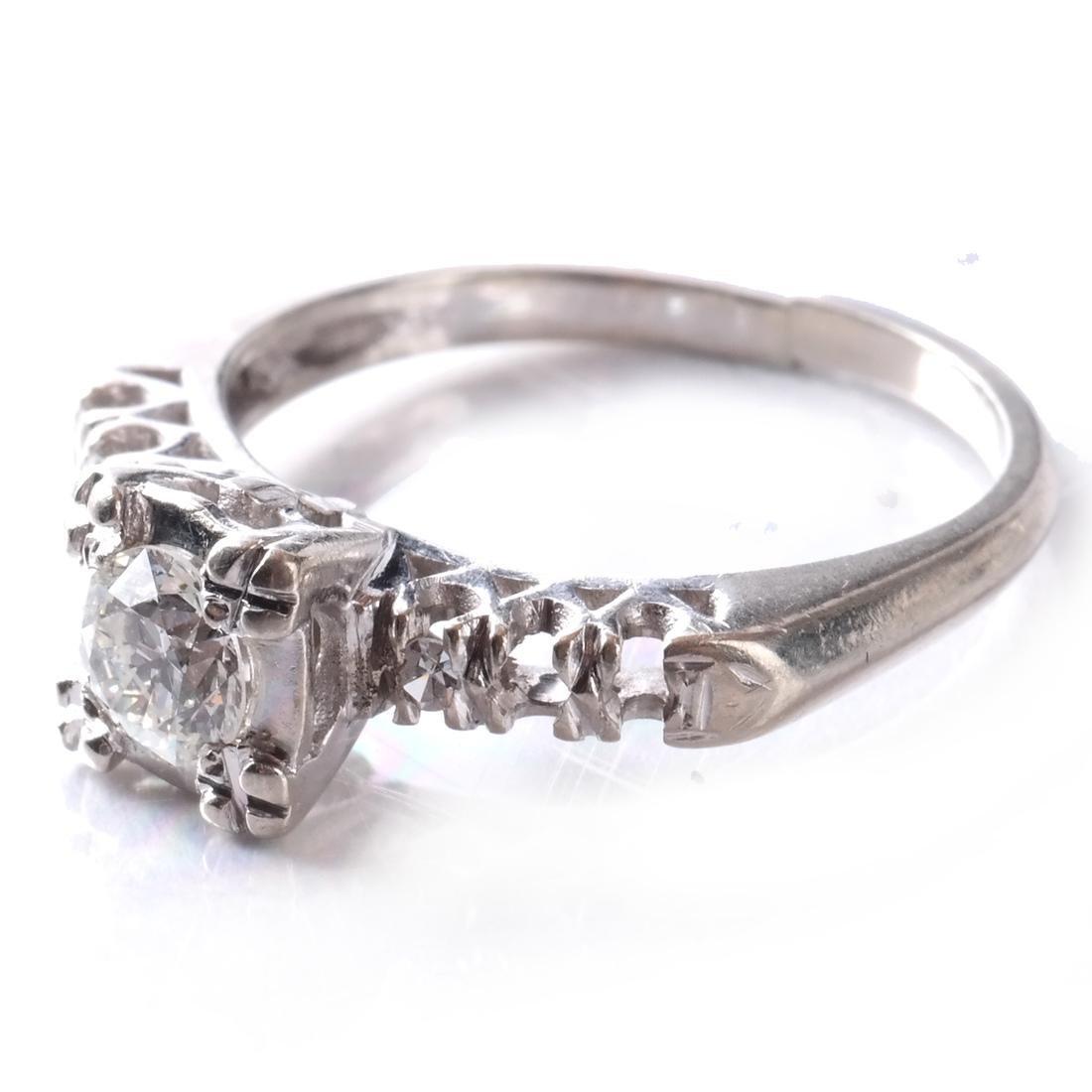 14k Diamond Ring - 3