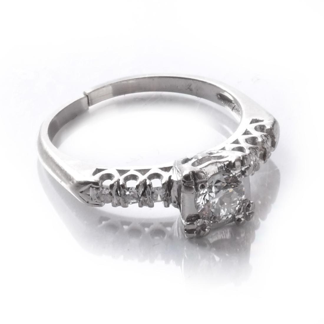 14k Diamond Ring - 4