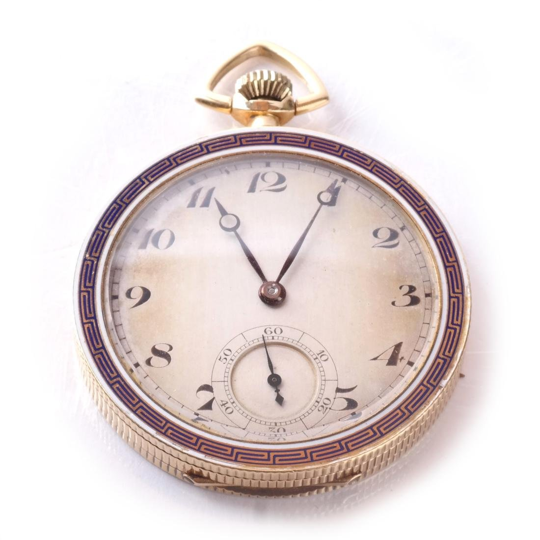 18k Pocket Watch, Open-Face - 2