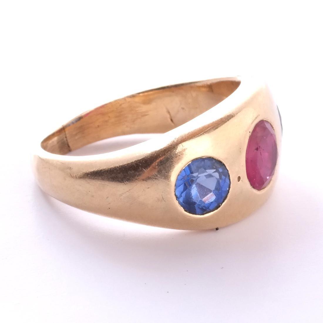 14k Ruby Ring - 2