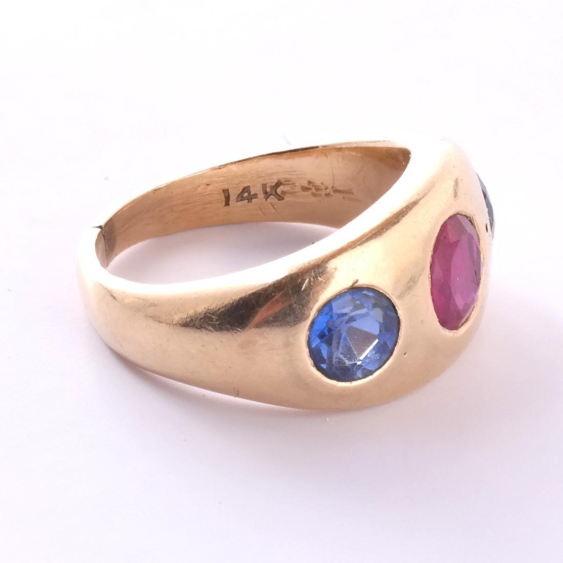 14k Ruby Ring - 3