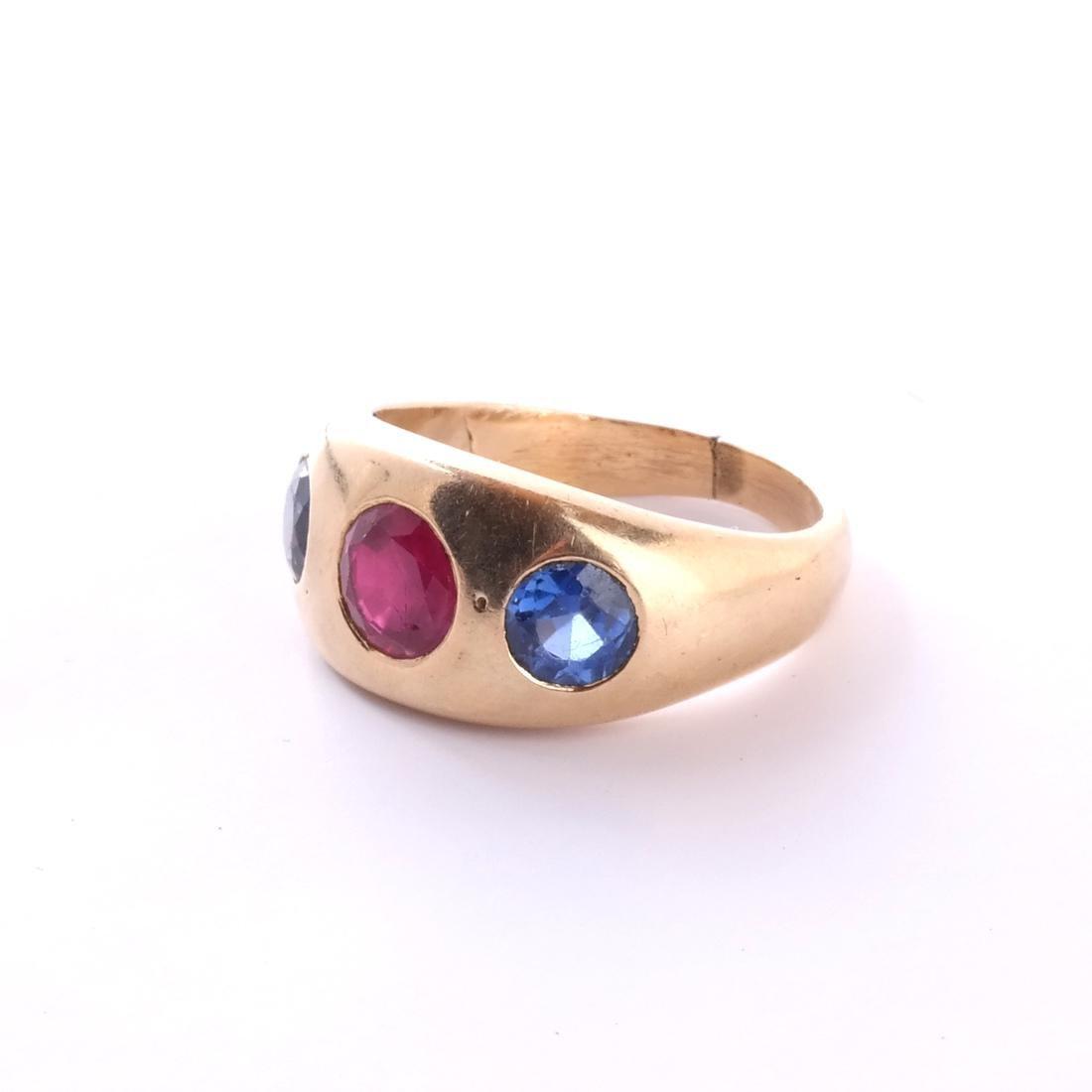 14k Ruby Ring - 4