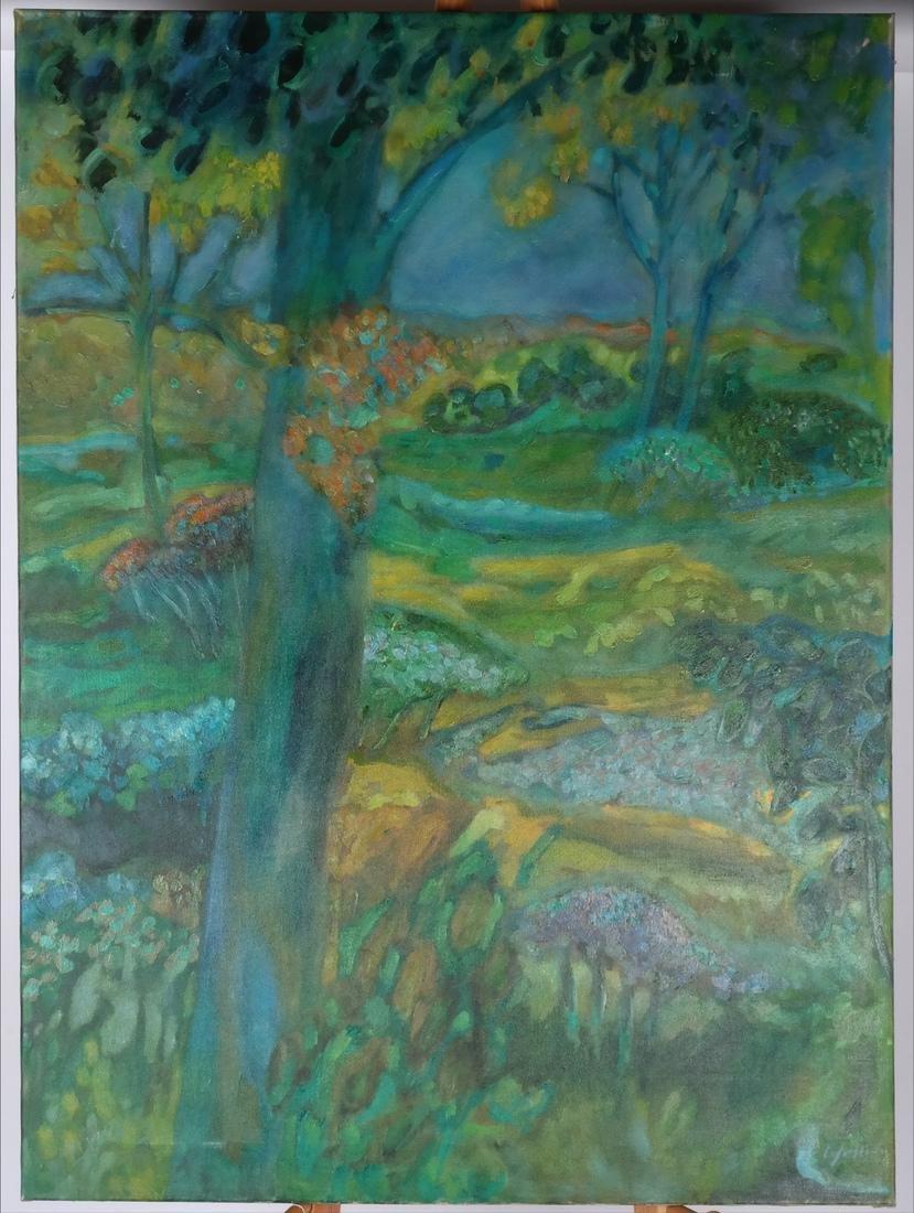William Lyberis: Landscape, Unframed