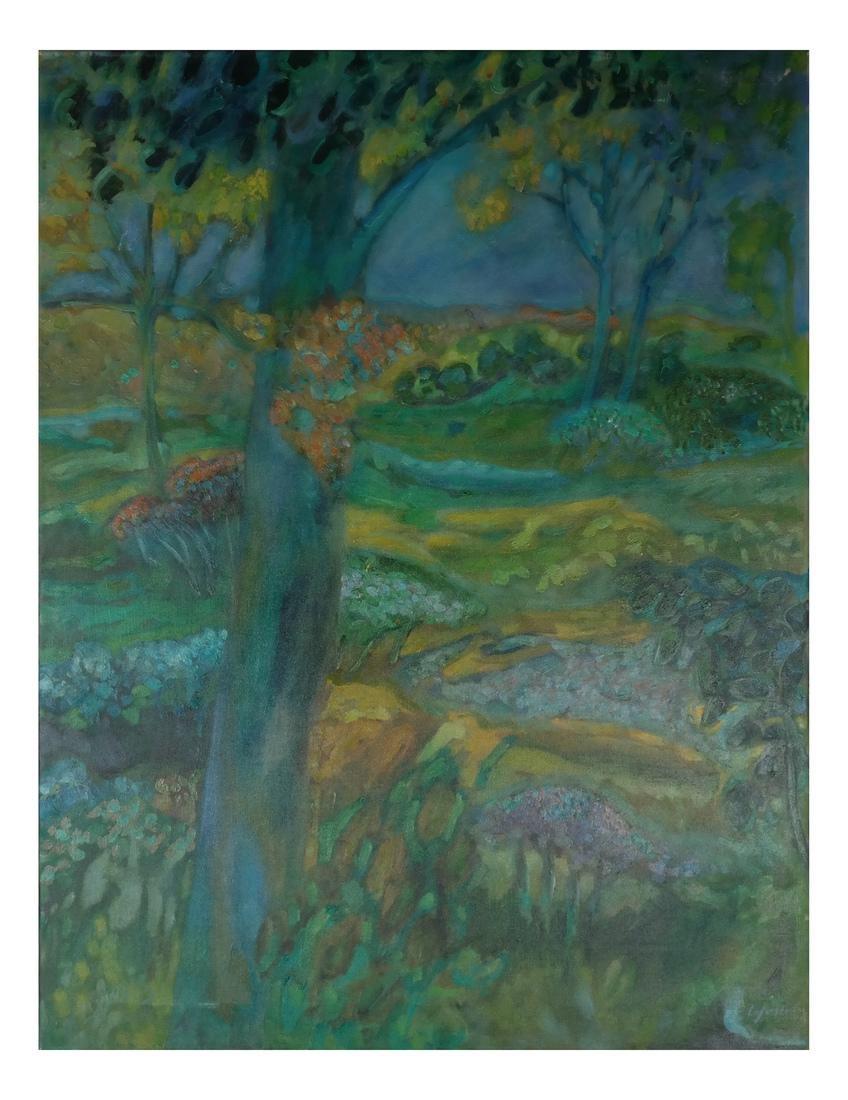 William Lyberis: Landscape, Unframed - 2