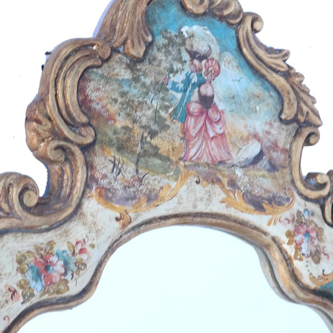 Venetian-Style Cartouche Mirror - 2