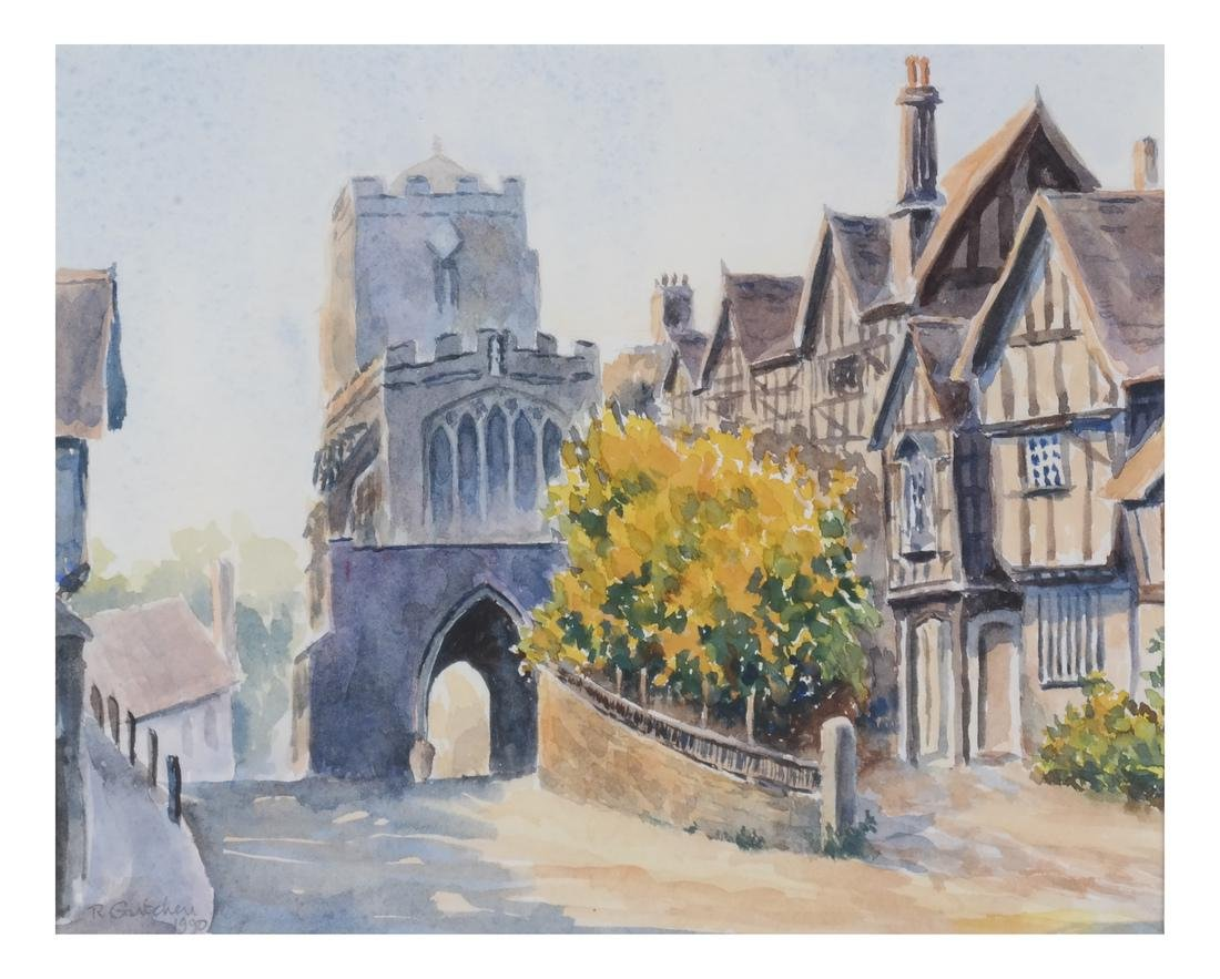 Leicesters Hosp., England - Watercolor